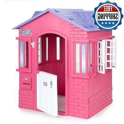 Kids Girl Princess Outdoor Playhouse Toy Pink Tent Large Pla