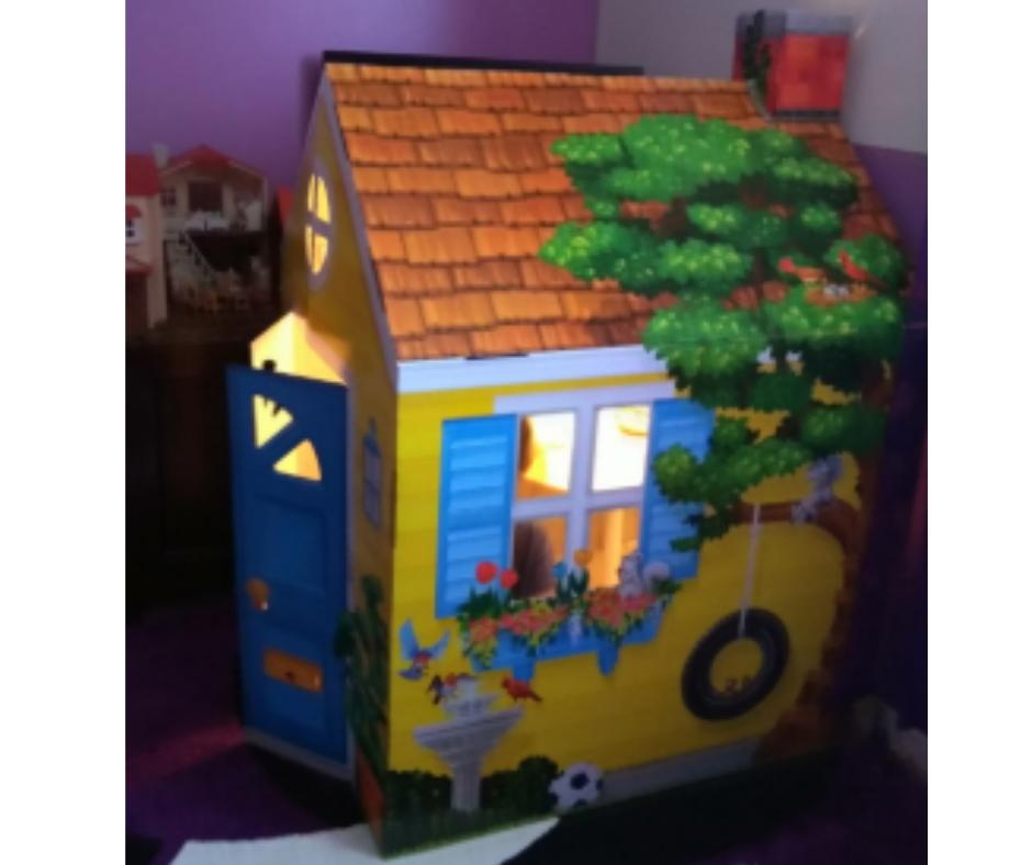 Playhouse for Indoor Toy Portable Castle Boy