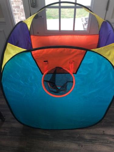 Kids Outdoor Magic Playground Tent Tunnel Play