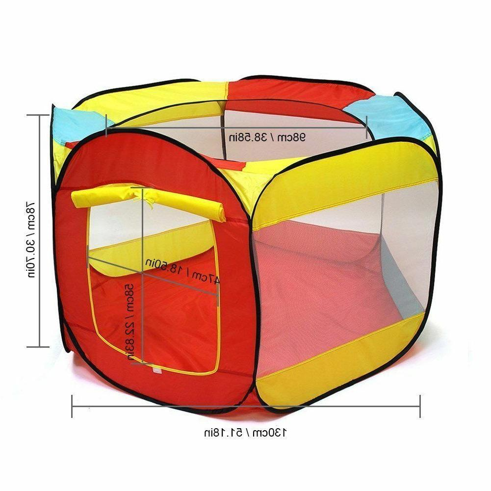 Kids Indoor Easy Folding Ball Pit Hut