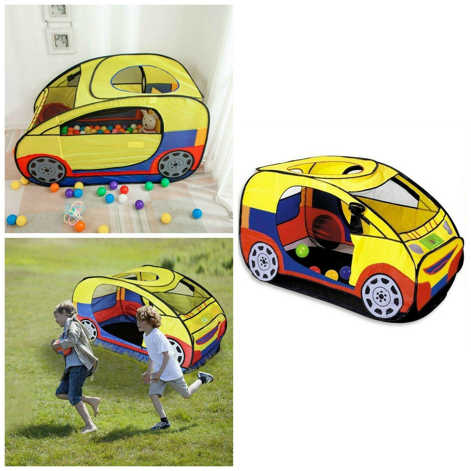 Kids Play Tent Pop Up Foldable Car Tent Indoor Outdoor Playh