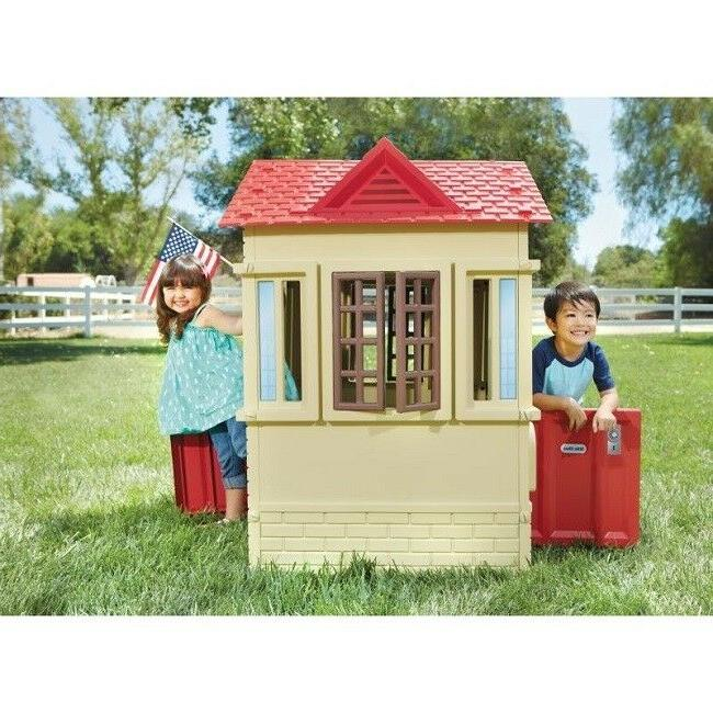 Kids Outside Kid Playhouses Garden Cottage