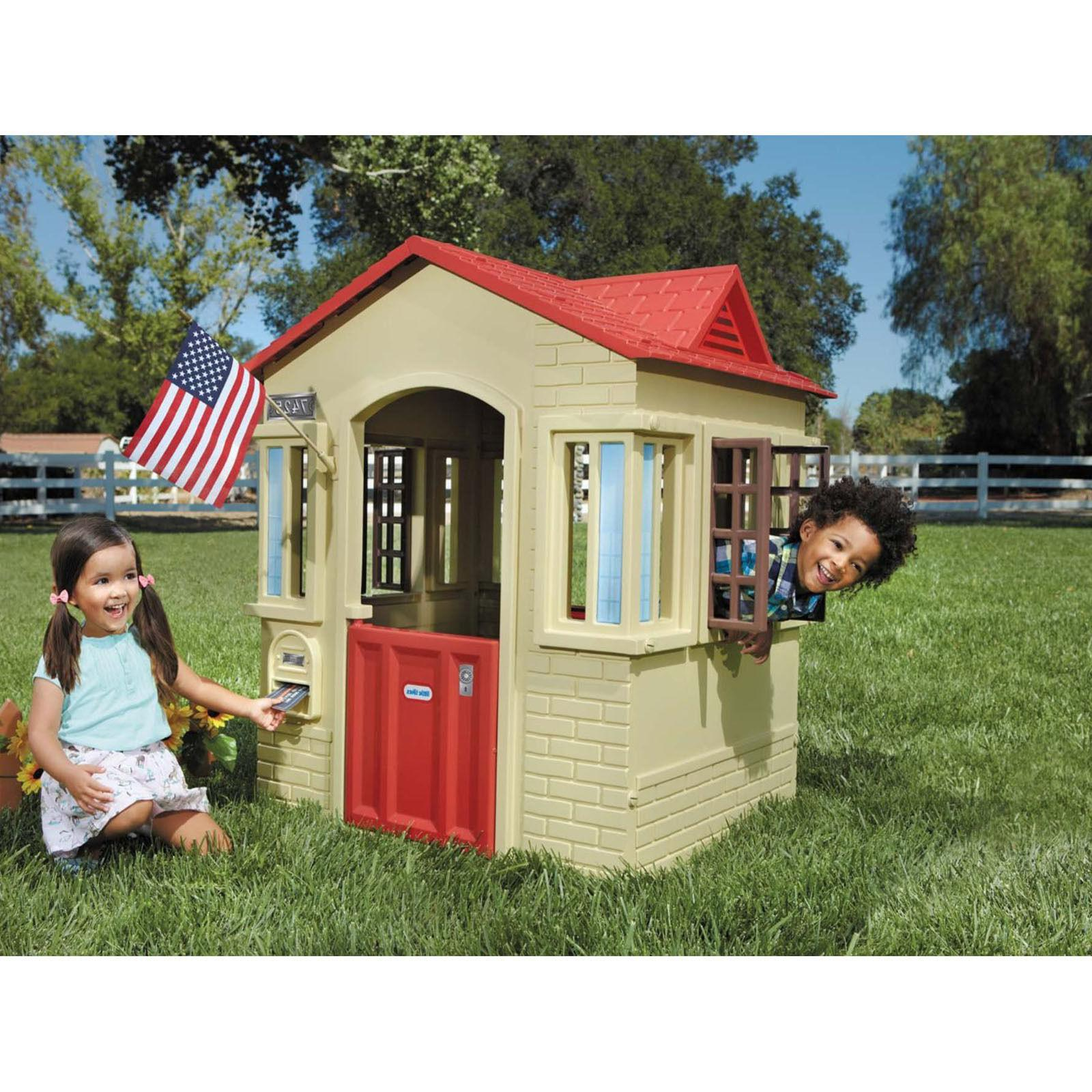 kids playhouse outdoor indoor cottage toddler children