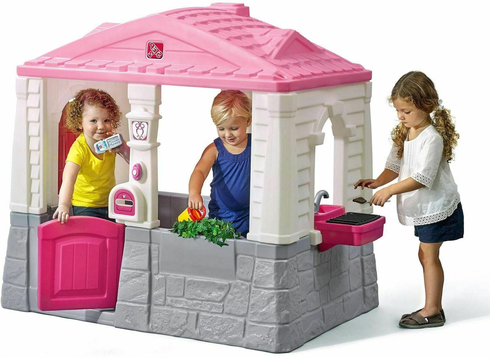 Kids Plastic Child Toddler Play House Toy Girls