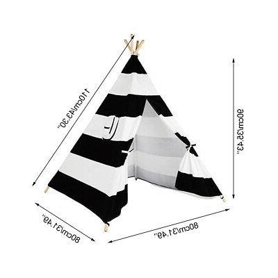 Large Kids Teepee Outdoor Play Indian