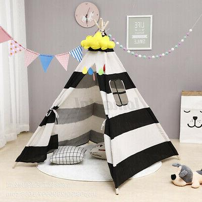 large kids teepee indoor outdoor play tent