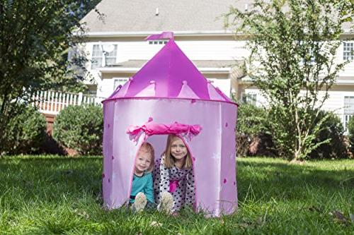 Kiddey Tent - Glow in the Dark Girls, With for Easy Storage. Idea