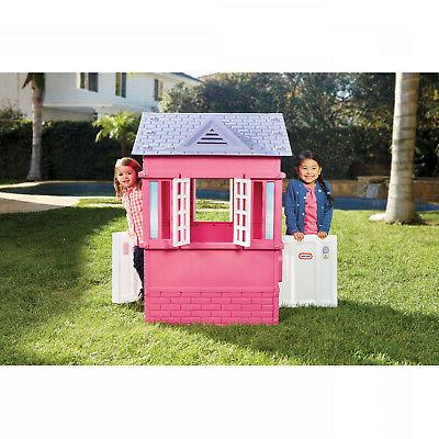 Princess Cottage Playhouse For Little Girls Toddler Kids Pre
