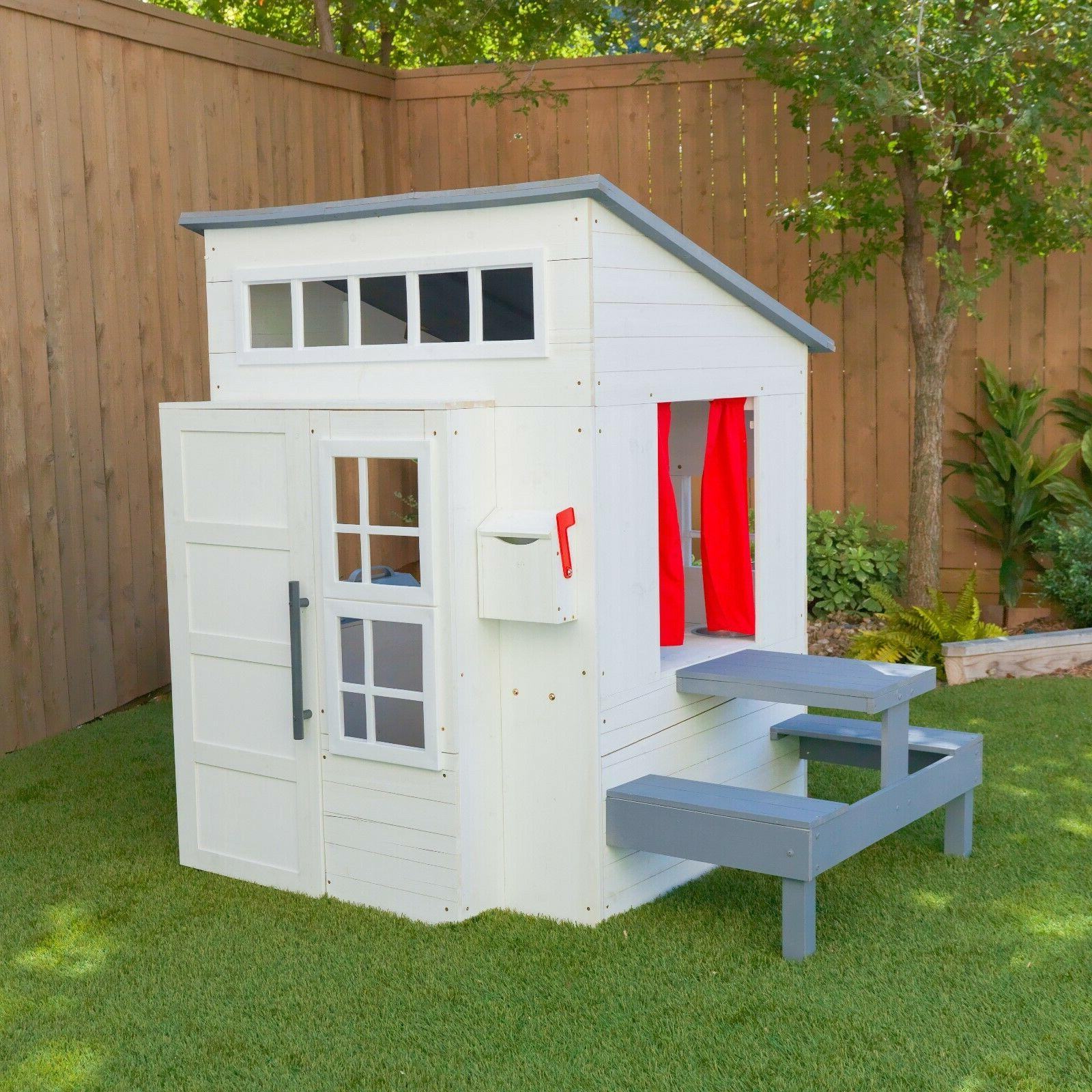 Modern Playhouse White by