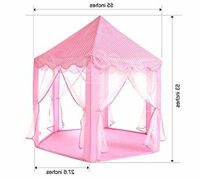 Monobeach Kids Play House Princess Tent and Castle