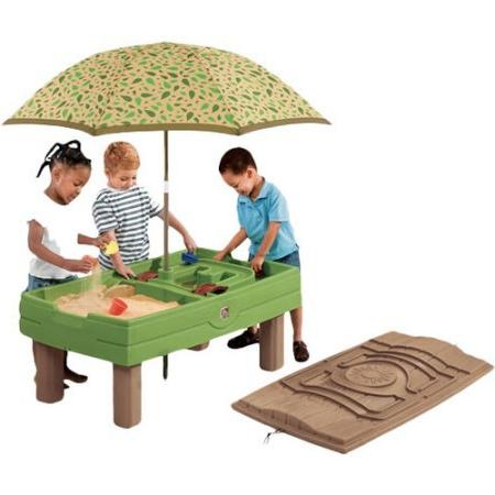 naturally playful sand water activity