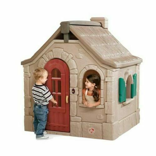 Step2 Naturally Playful Storybook Cottage Playhouse Kid Play