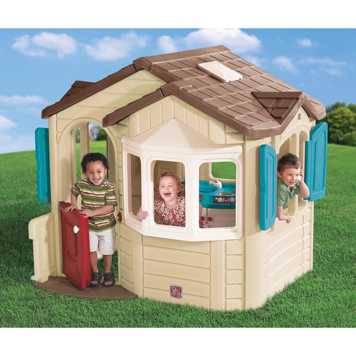 naturally playful welcome home playhouse for toddlers