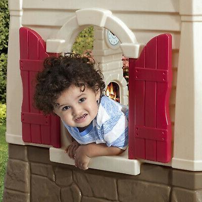 Neat Playhouse Outdoor Kids Toddlers Toy