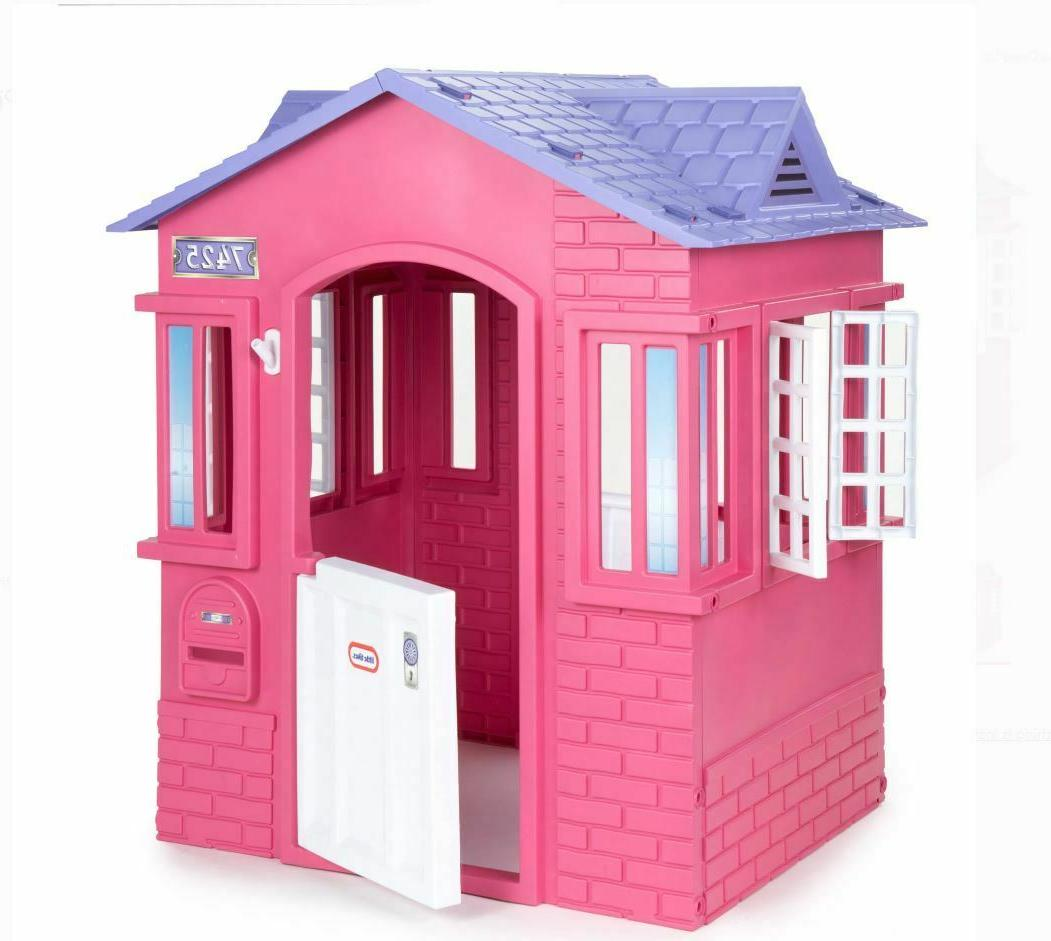 new princess cottage outdoor girl s playhouse