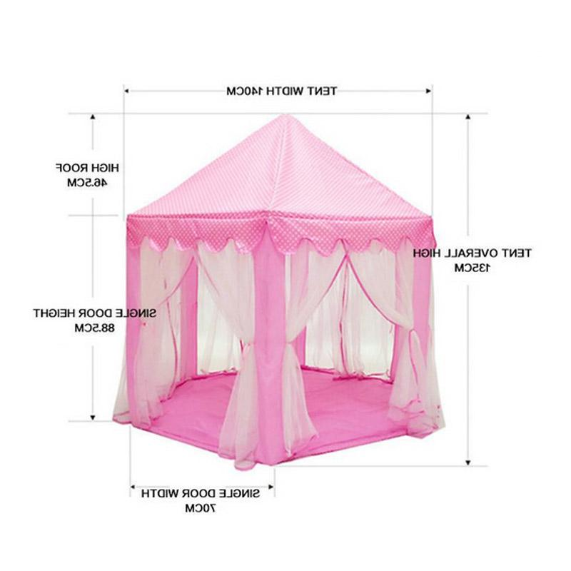 NEW Foldable Castle Play Tent Children Fairy Funny <font><b>Outdoor</b></font> <font><b>Playhouse</b></font> Beach Toys