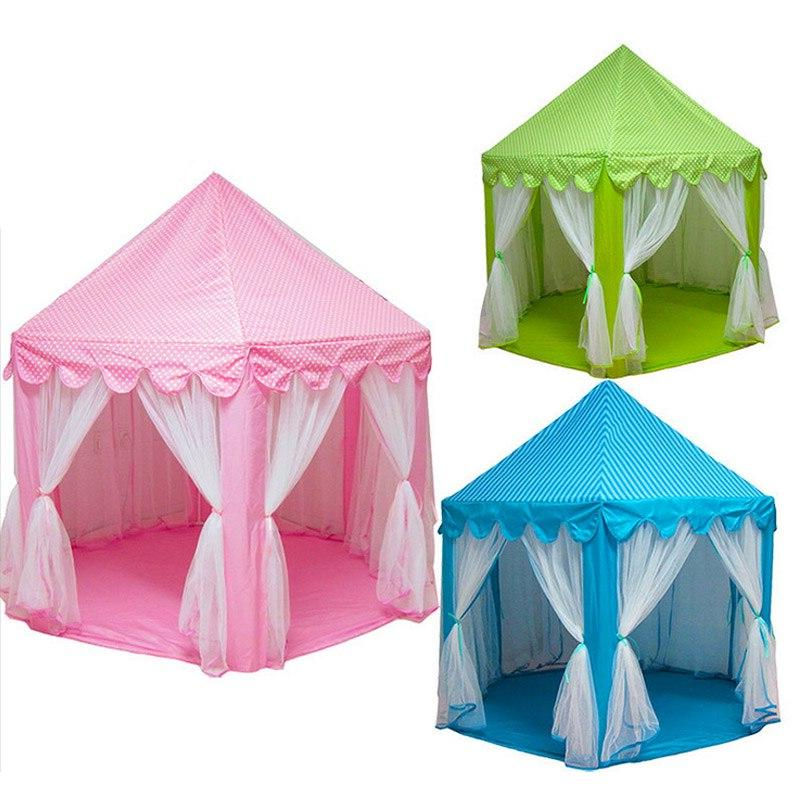 Hot Selling Portable Princess Play Tent Children Fairy <font><b>Indoor</b></font> <font><b>Outdoor</b></font> <font><b>Playhouse</b></font> Toys