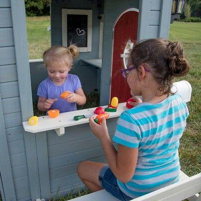 Outdoor Kids Backyard Play House