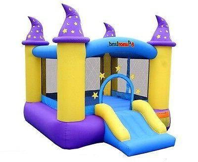 outdoor kids playhouse inflatable slides bouncer bounce