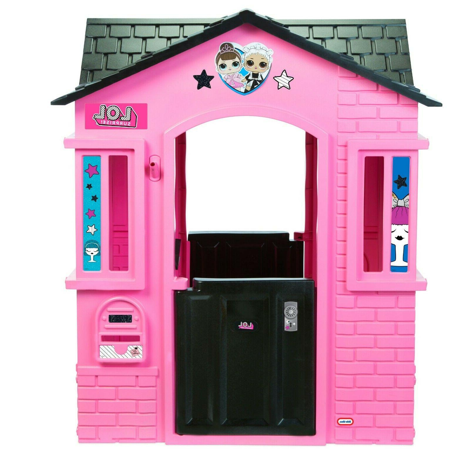 Outdoor Glitter Girls Kids Play House Home