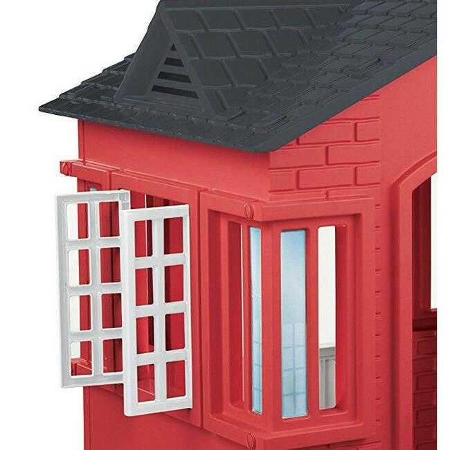 Outdoor Pretend Play Red Plastic