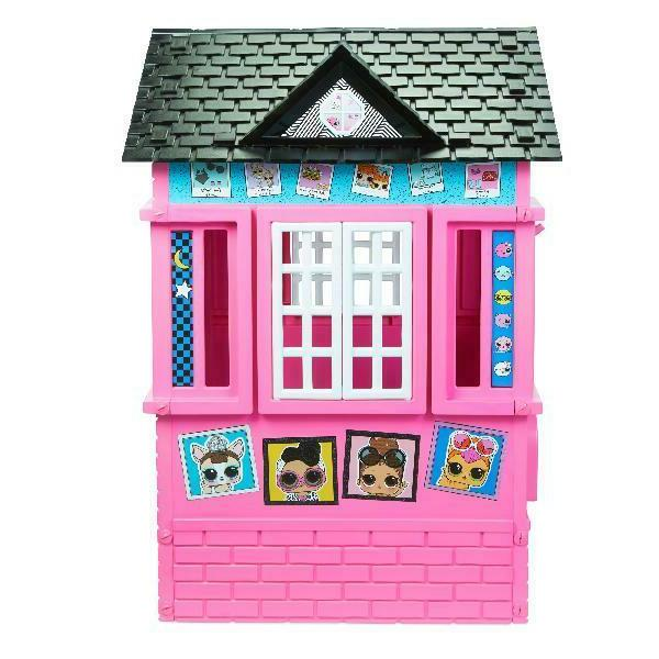 Pink Glitter Play House