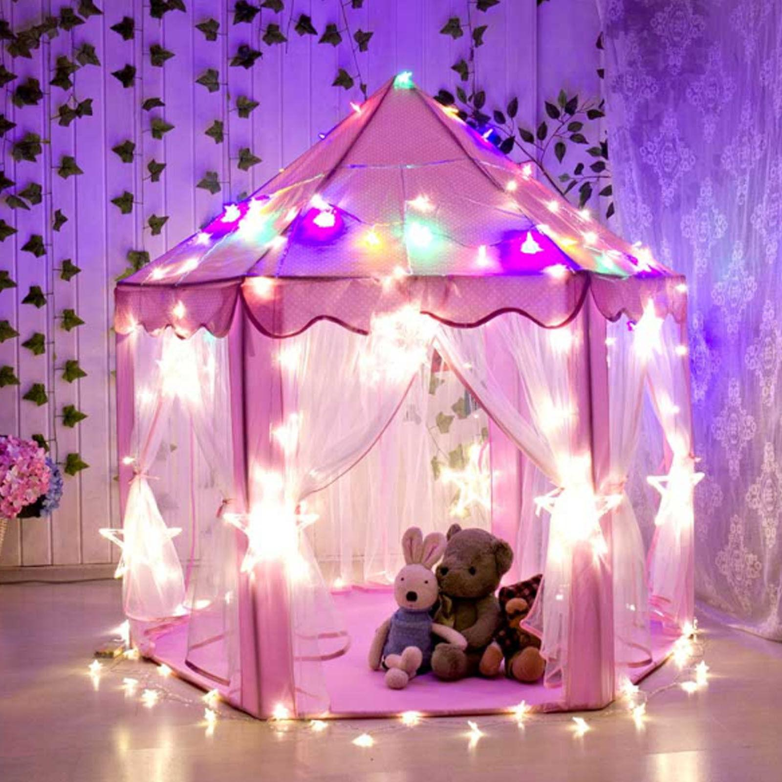 Pink Princess Castle In/Outdoor Fairy Play