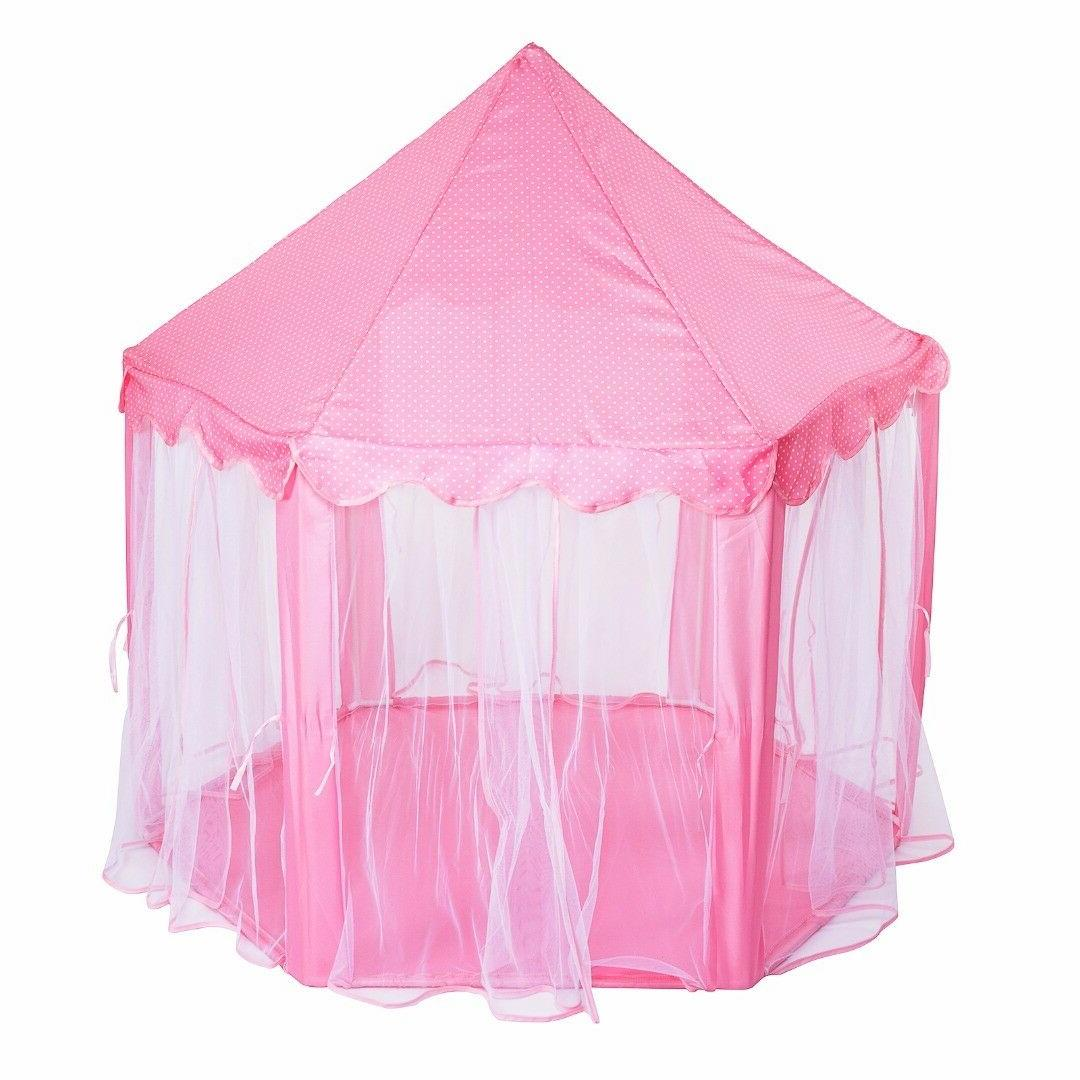 Pink Castle In/Outdoor Play