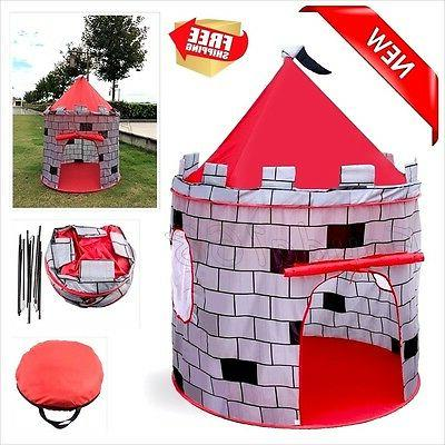 Kids Play Tent Indoor Outdoor House Toddler Knights Baby NEW