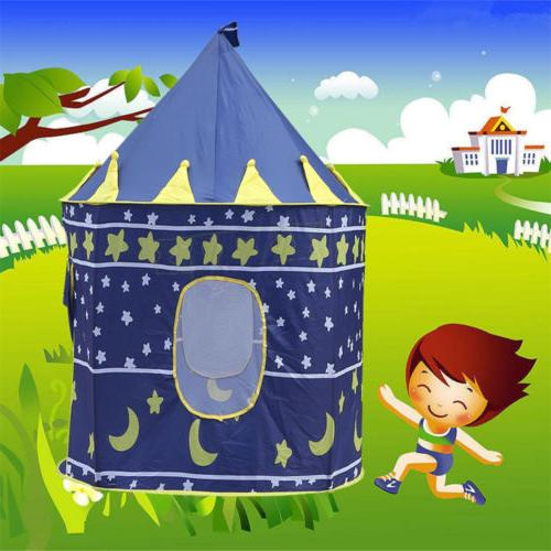 Playhouse Castle Tunnel Fairy House Playhut For Boys Girls