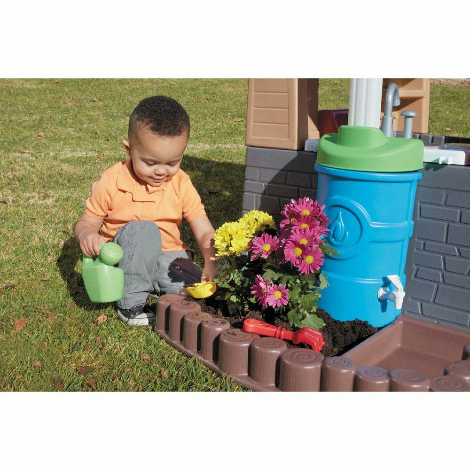 Playhouse Light Kids Toy Outdoor Fun Size Durable