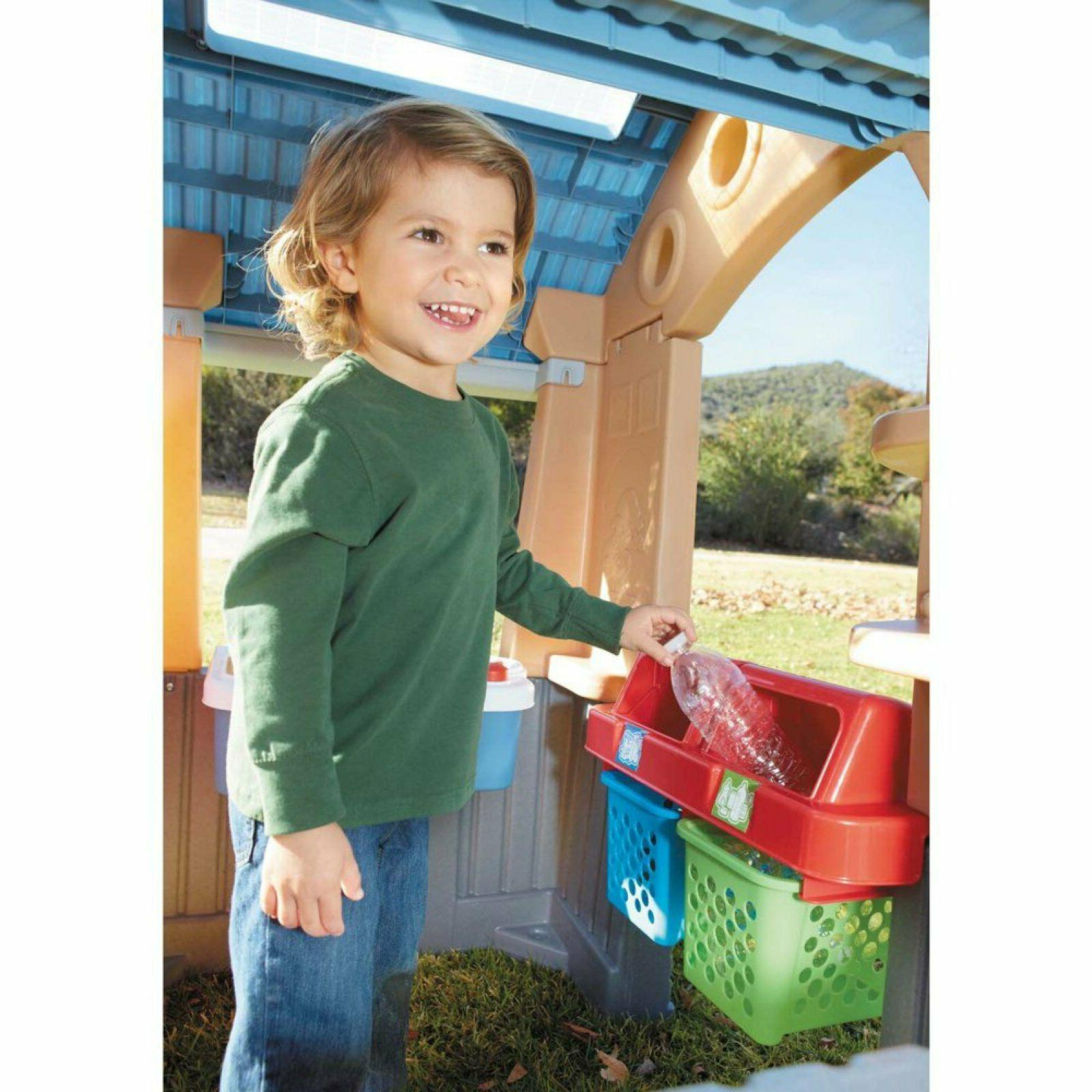 Playhouse Energy Efficient Light Kids Toy Outdoor Fun Size