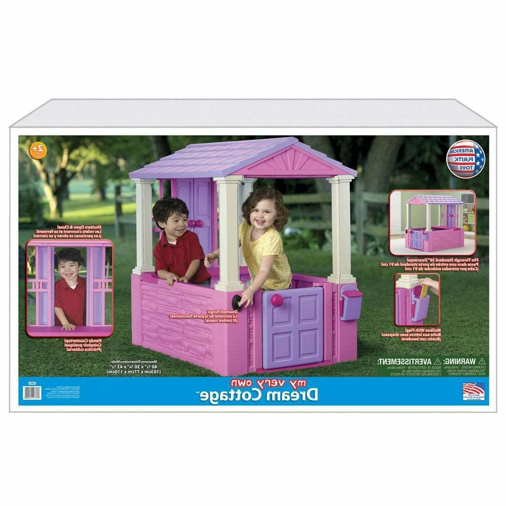 Playhouse American Plastic My Own Dream Cottage Pretend Play Preschool