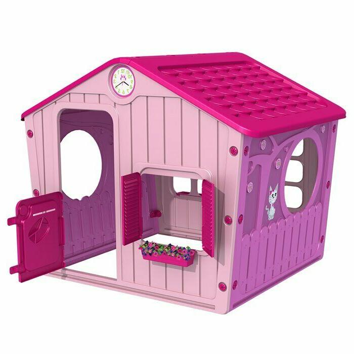 playhouse outdoor pink girls kids play tent