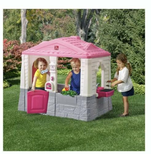 playhouse plastic toddler cottage play