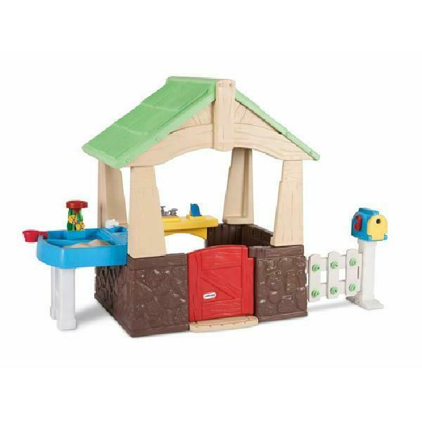Playhouse Outdoor Home & Tikes New!