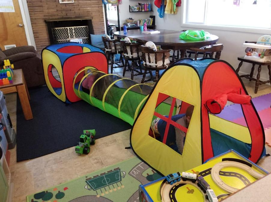 PopUp Tent Tunnel Ball Children Kids Toddlers