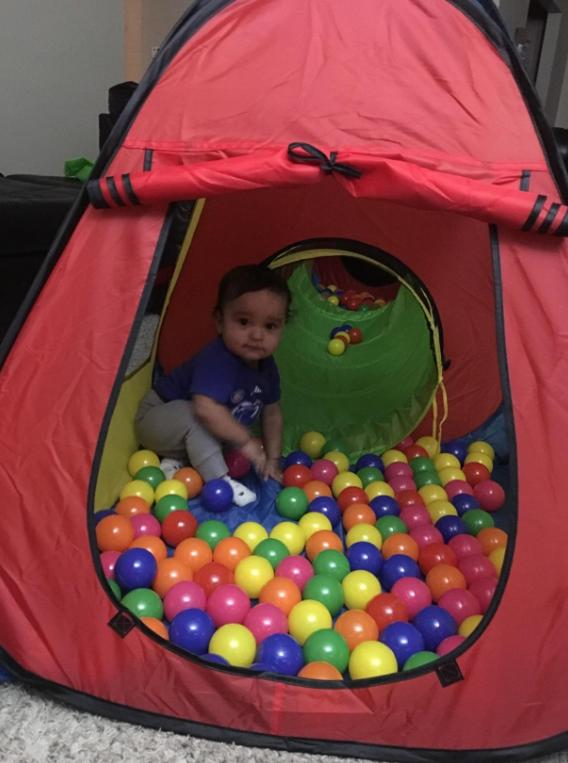 PopUp Play Tent Tunnel Ball Toddlers