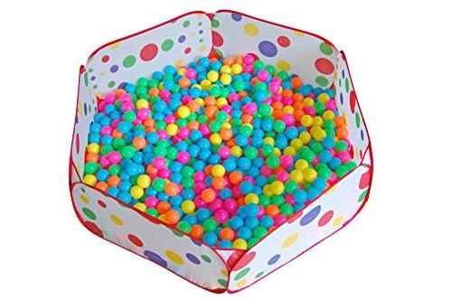 Maxmaxi Portable Polka Dot Children Play Playpen Pools
