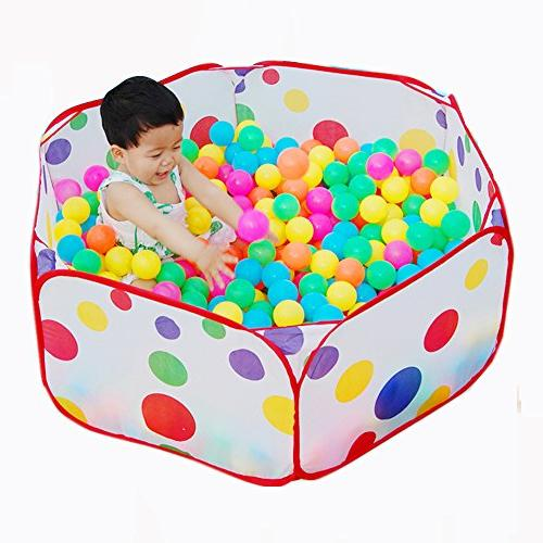 portable folding colorful polka dot