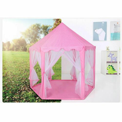 Pink Play Tent for Girls