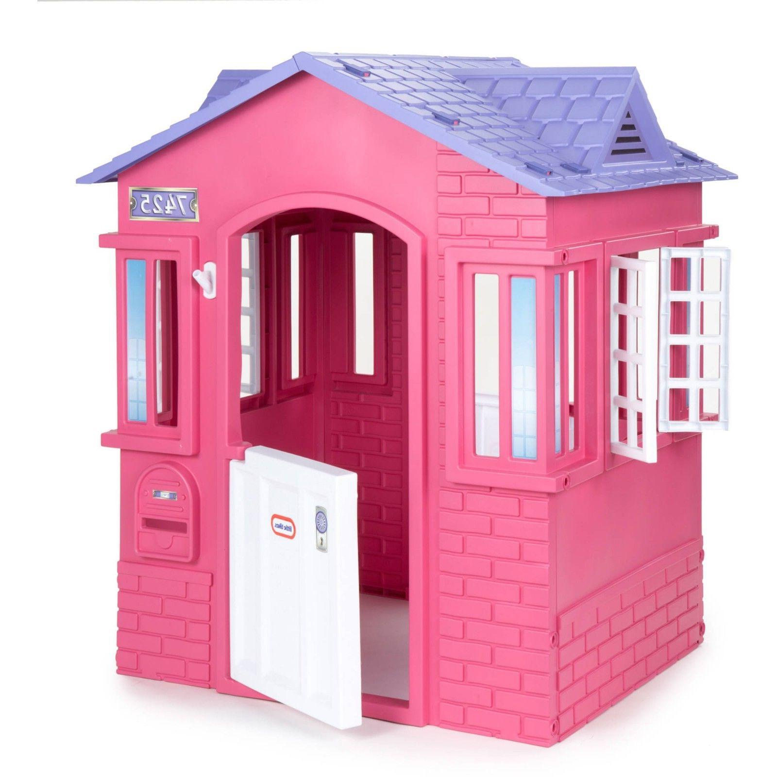princess cape cottage playhouse pink