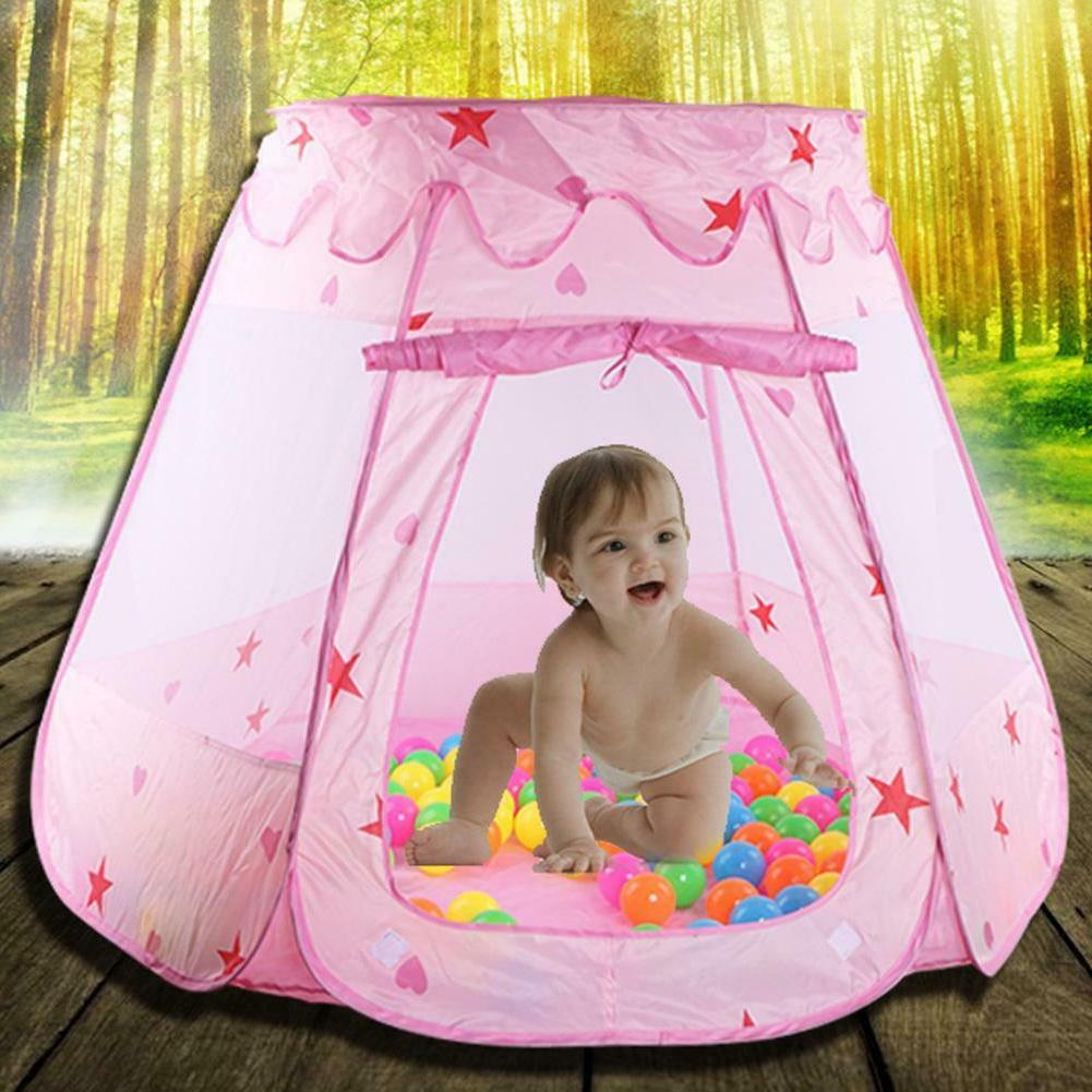 Princess Play Tent - Indoor Outdoor Toy Play House Girls Gif