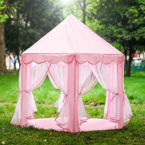 Princess Play House Indoor/Outdoor Play & 6M Girls