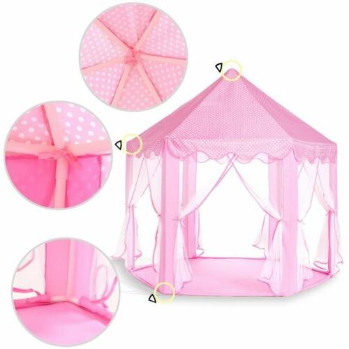 Princess Castle Play House, Large Indoor/Outdoor Tent Girls !