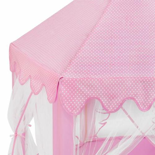 Princess Large Indoor/Outdoor Play Tent for !