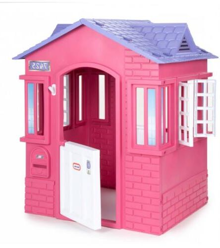 princess cottage playhouse outdoor entertainment for toddler