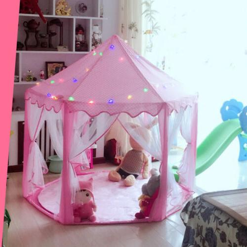 Princess Girls Castle House Play Tent Christmas