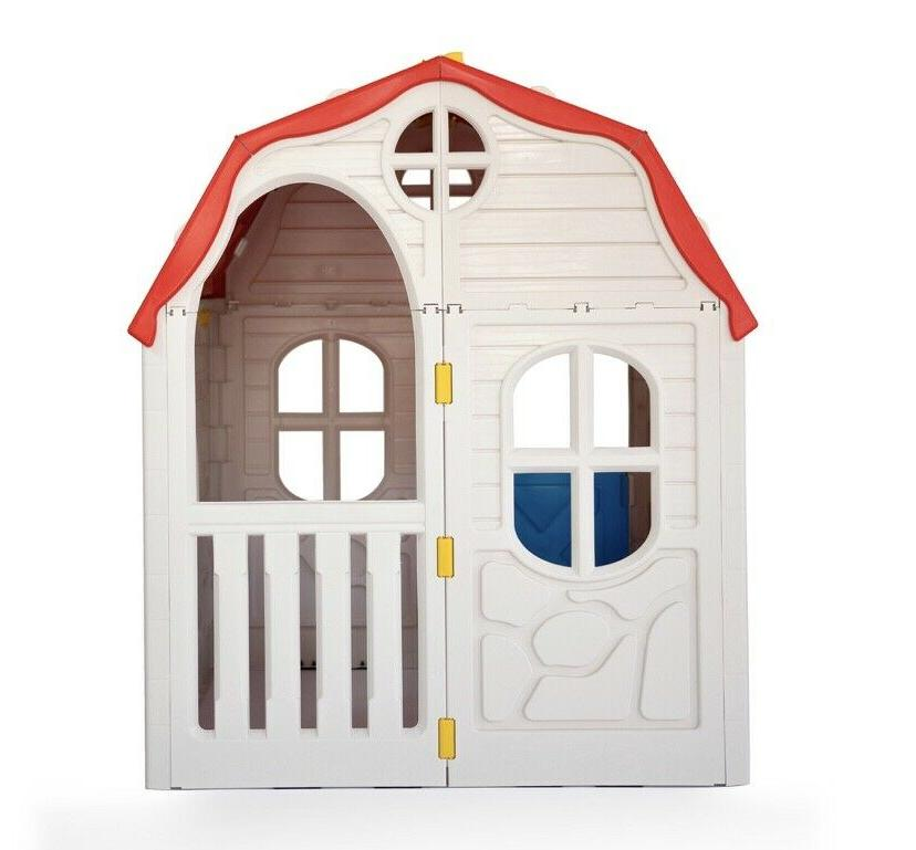 Cottage Outdoor Playhouse