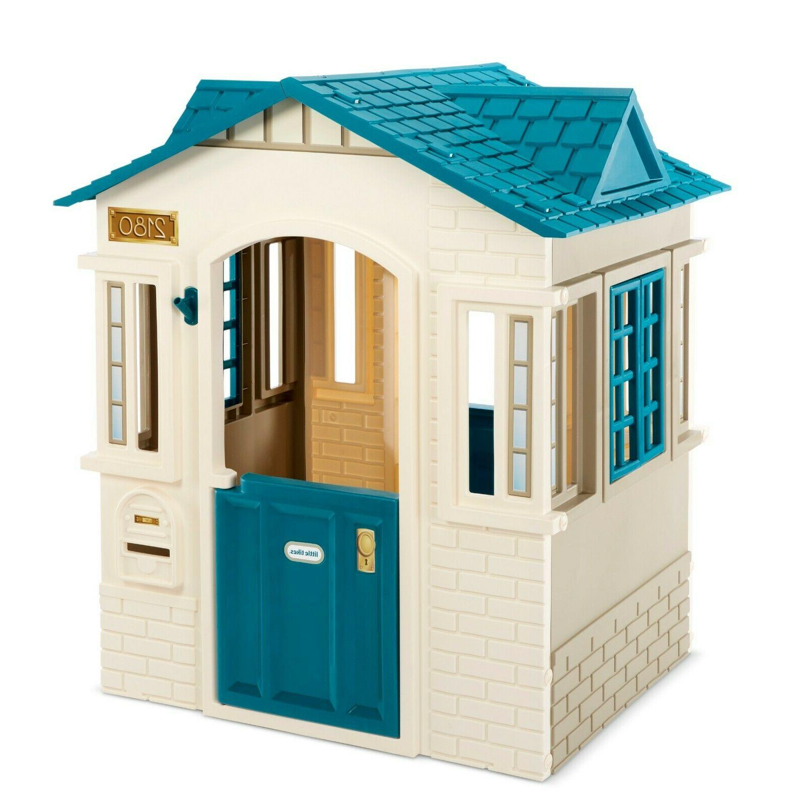 safe playhouse garden view outdoor cape cottage
